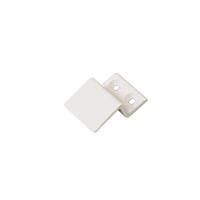 Кронштейн металлический 10 мм для МС верхний белый, 100 шт.