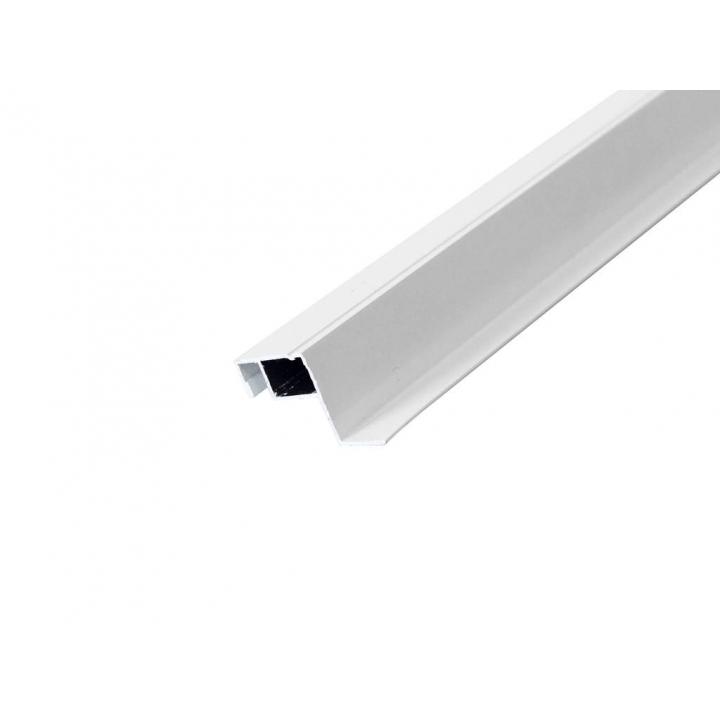 Профиль москитной сетки внутренний 27х10 мм, белый, 5.8 м.