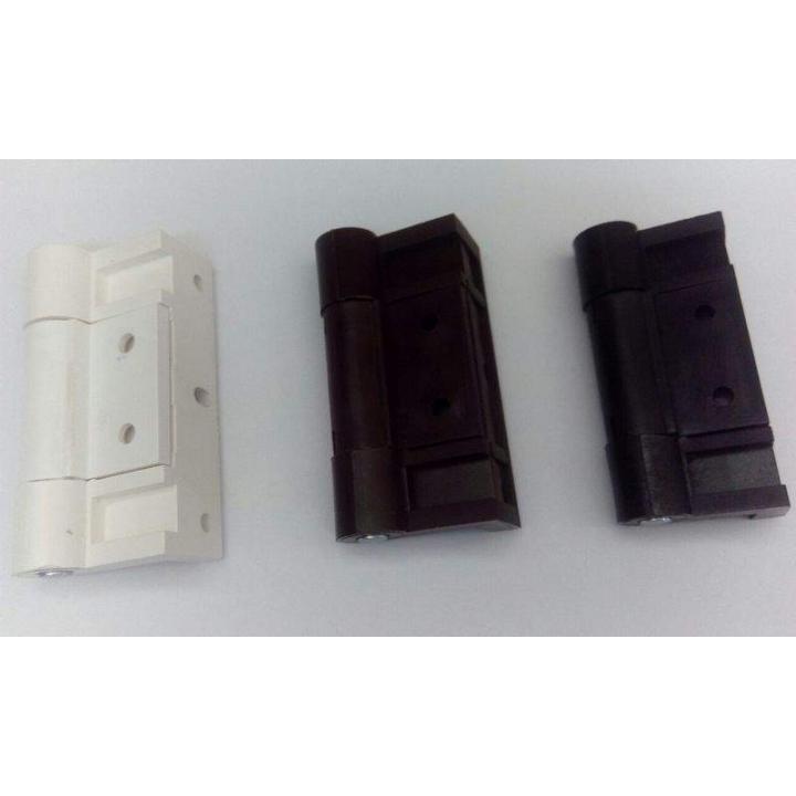 Петля для дверной москитной сетки усиленная со штифтом, коричневая