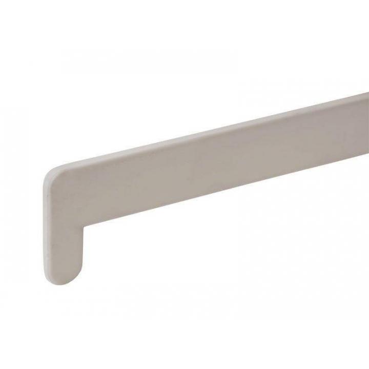 Накладка торцевая пластиковая для подоконника BAUSET ЛПР-40 /600мм, белая
