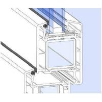 Уплотнитель для рамы и стеклопакета VEKA, черный, 10 м