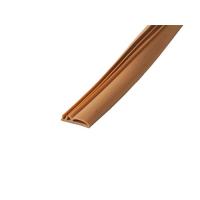 Уплотнитель контурный для межкомнатных дверей DEVENTER, ПВХ, коричневый RAL 8002, 20 м