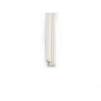 Уплотнитель для деревянных евроокон DEVENTER на наплав створки, ширина паза 3 мм, ТЭП, белый RAL 9016, 20 м