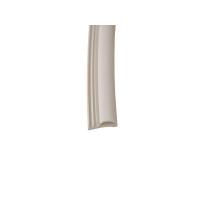 Уплотнитель контурный для межкомнатных дверей DEVENTER, ПВХ, белый RAL 9016, 20 м