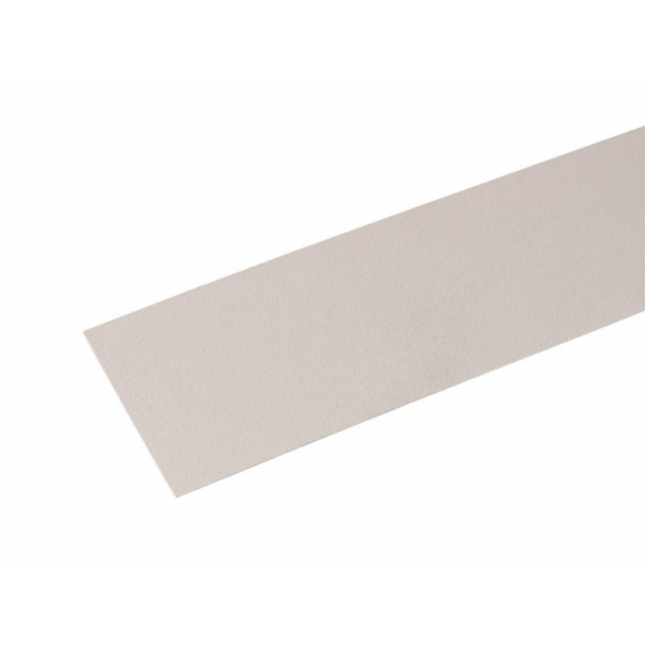 Накладка торцевая термоклеющиеся Werzalit 610х36 мм полярный белый (400)