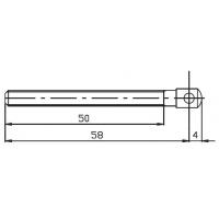 Винт регулировочный SINTESI 2000, 58 мм, 81222C